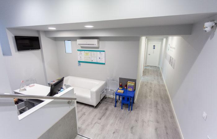 Clínica dental Salamanca - Entrada