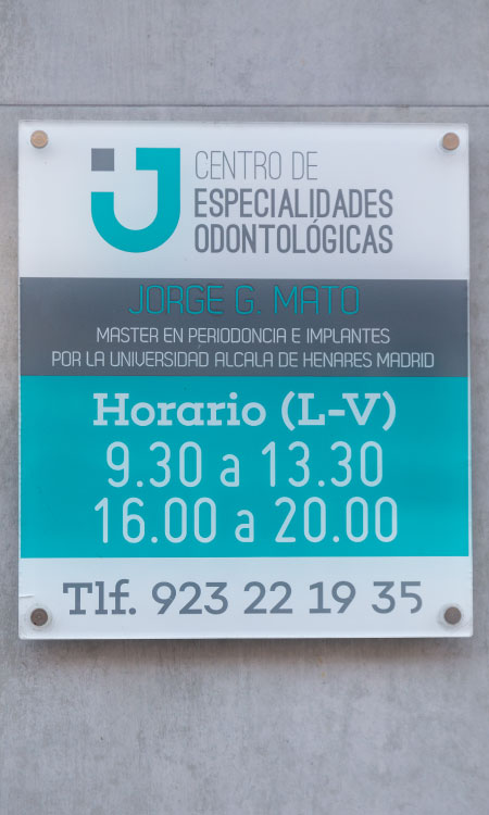 Clínica dental Salamanca - Horario