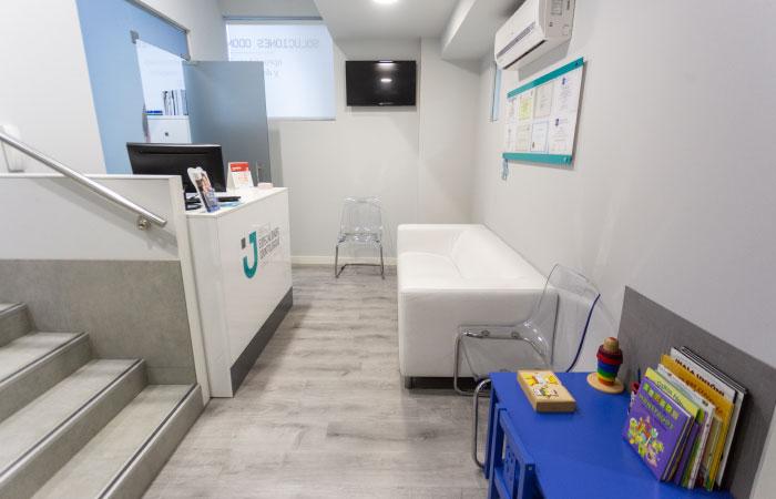 Clínica dental Salamanca - Recepción